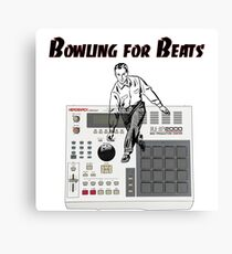 Bowling for Beats Canvas Print