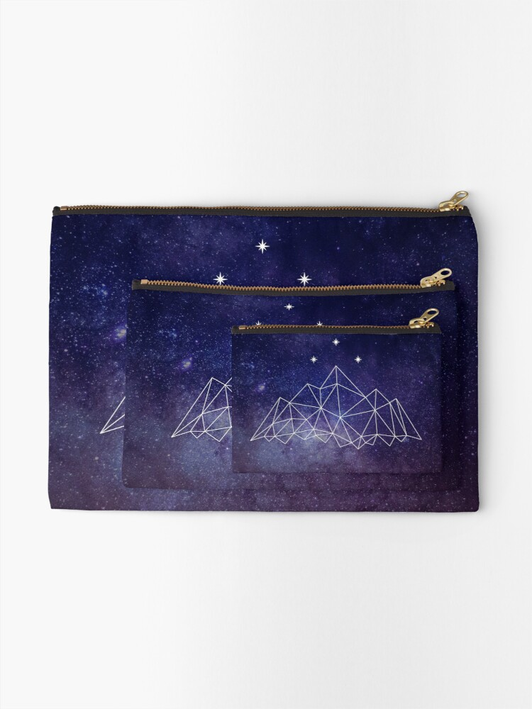 Alternate view of The Night Court Zipper Pouch
