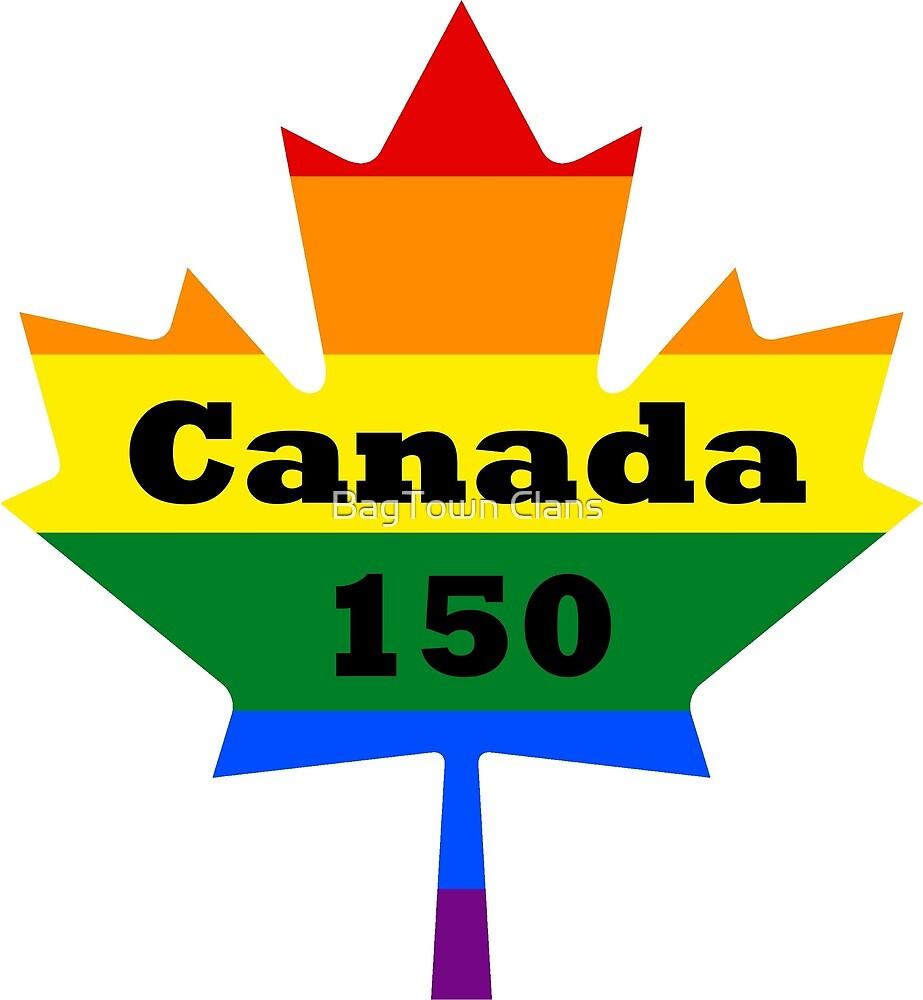 Canada 150 - Pride by BagTown Tees