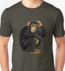 Chimpanzee Bonobo Great Ape Unisex T-Shirt