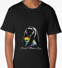 Proud Mama Bear Long T-Shirt