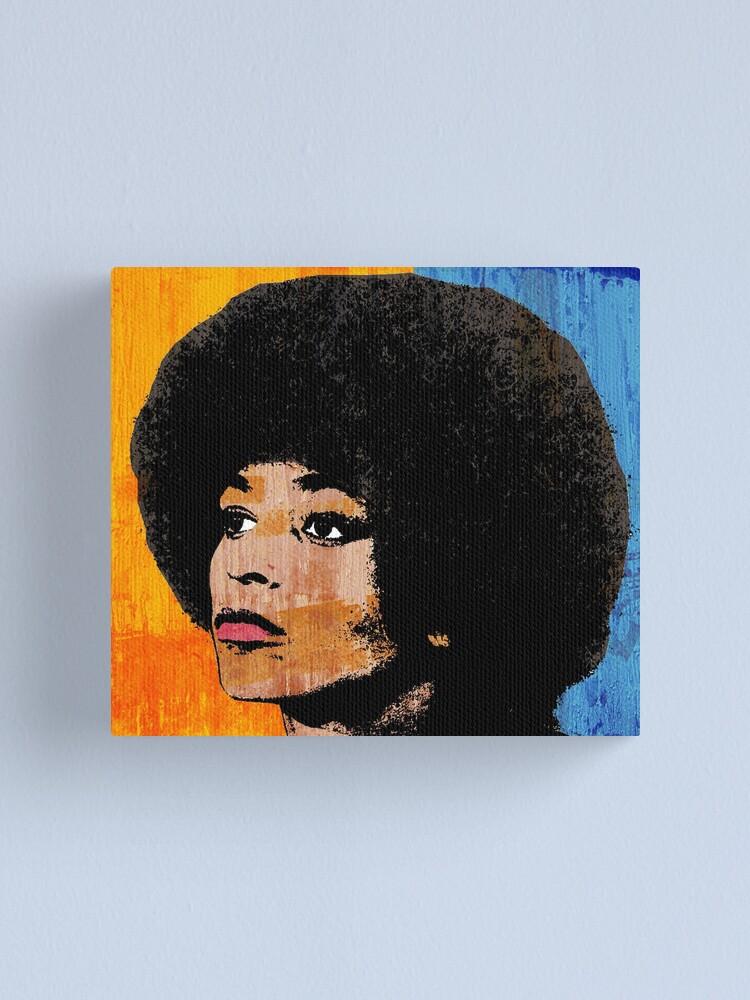 Free Angela Davis Civil Right Black Panther Giant Wall Art Poster Print