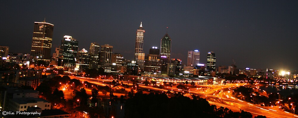 Perth City by Nix76