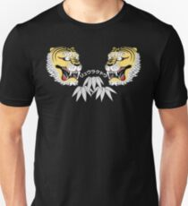 tiger and bamboo leaf T-Shirt