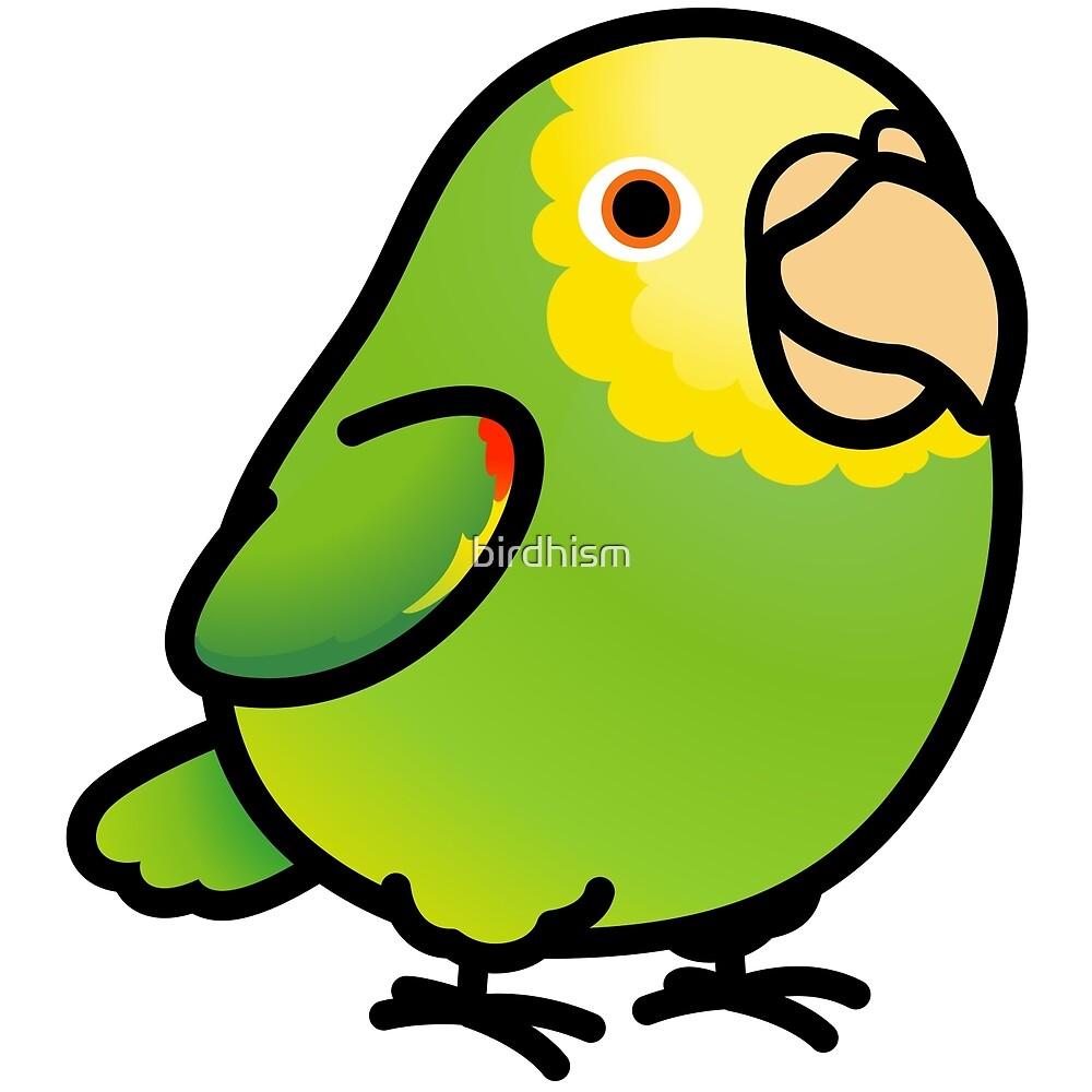 Chubby Yellow-headed Amazon by birdhism