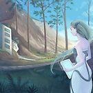 Living in the woods by Adrienn Ecsedi