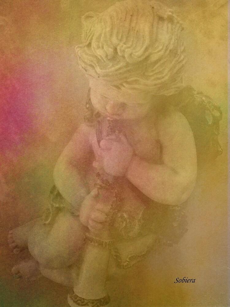 Blessed Cherub by Rosemary Sobiera