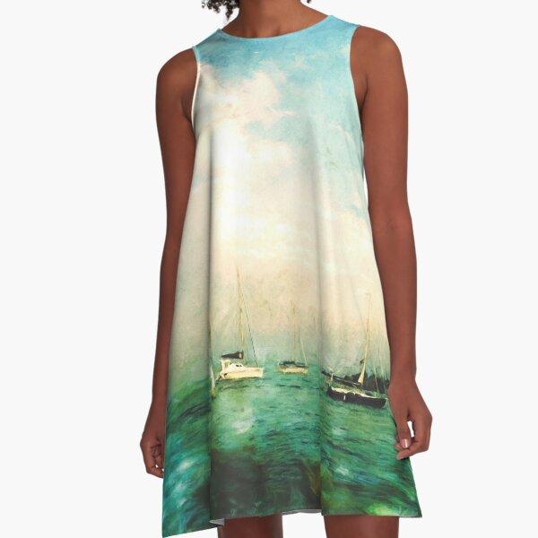 NAVY PIER A-Line Dress