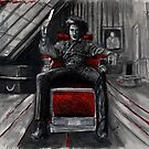 The Horrid Barber Sweeney Todd by Carliss Mora