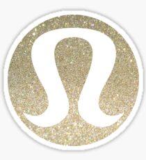 Lulu Glitter Sticker