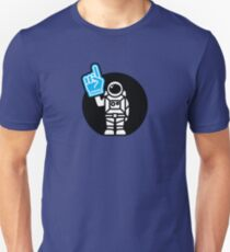 Lonely Astronaut - Supporting the Home Planet Team Unisex T-Shirt
