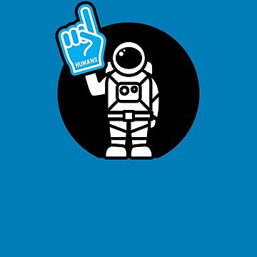 Lonely Astronaut - Supporting the Home Planet Team by SevenHundred
