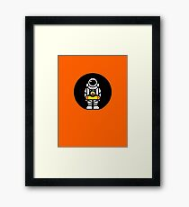 Lonely Astronaut - Looking for Water Framed Print