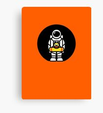 Lonely Astronaut - Looking for Water Canvas Print