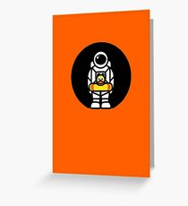 Lonely Astronaut - Looking for Water Greeting Card