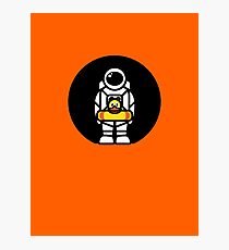 Lonely Astronaut - Looking for Water Photographic Print