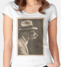 The Gangster Women's Fitted Scoop T-Shirt