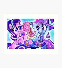 Starlight and trixie Art Print