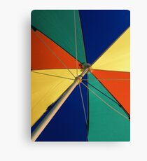 Beautiful Mundane 01 - The Summer Umbrella  Canvas Print