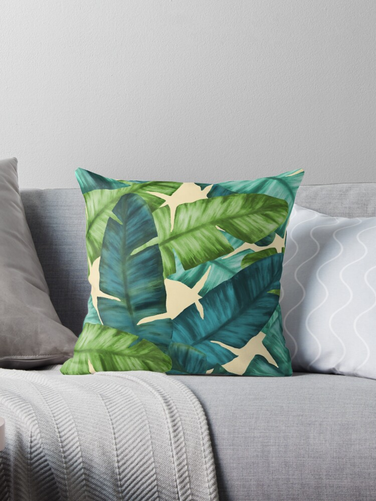 Tropical Banana Leaves Original Pattern by oursunnycdays