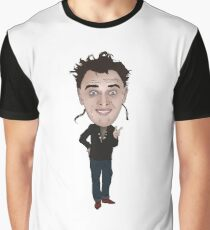 Rick Young Ones Inspired Illustration Graphic T-Shirt