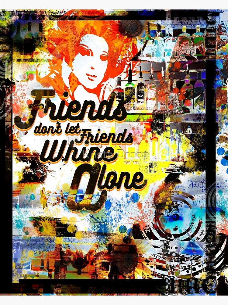 WHINE ALONE by Eye4Dogs