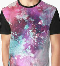 Grunge Watercolor Stain Pattern Design Graphic T-Shirt