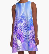 Seerosen in Harmonie - Water lilies in harmony A-Line Dress