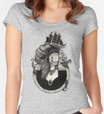 Lady Lumière. Women's Fitted Scoop T-Shirt