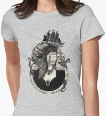Lady Light. Women's Fitted T-Shirt