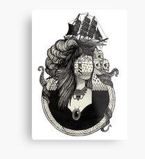 Lady Light. Metal Print