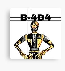 Star Wars Droid - B-4D4 Canvas Print
