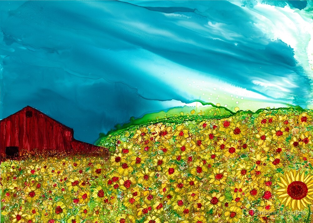 Remembering Sunflowers by Kimberly Langlois