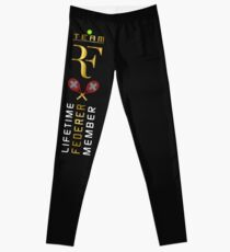 Roger Federer Lifetime Member Tennis Leggings