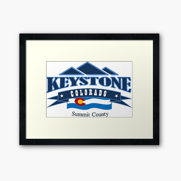 Keystone - Colorado Framed Art Print