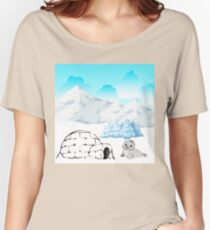 Seal Scene Women's Relaxed Fit T-Shirt