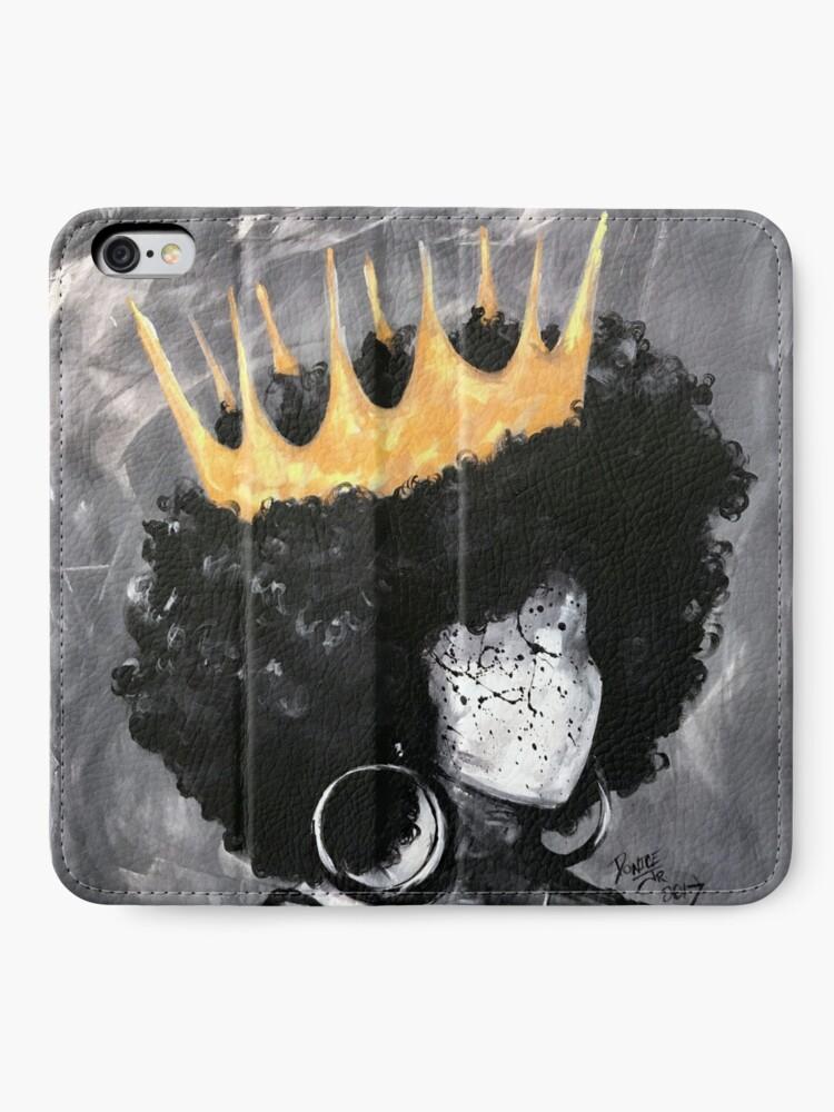 Alternative Ansicht von Natürlich Königin II iPhone Flip-Case