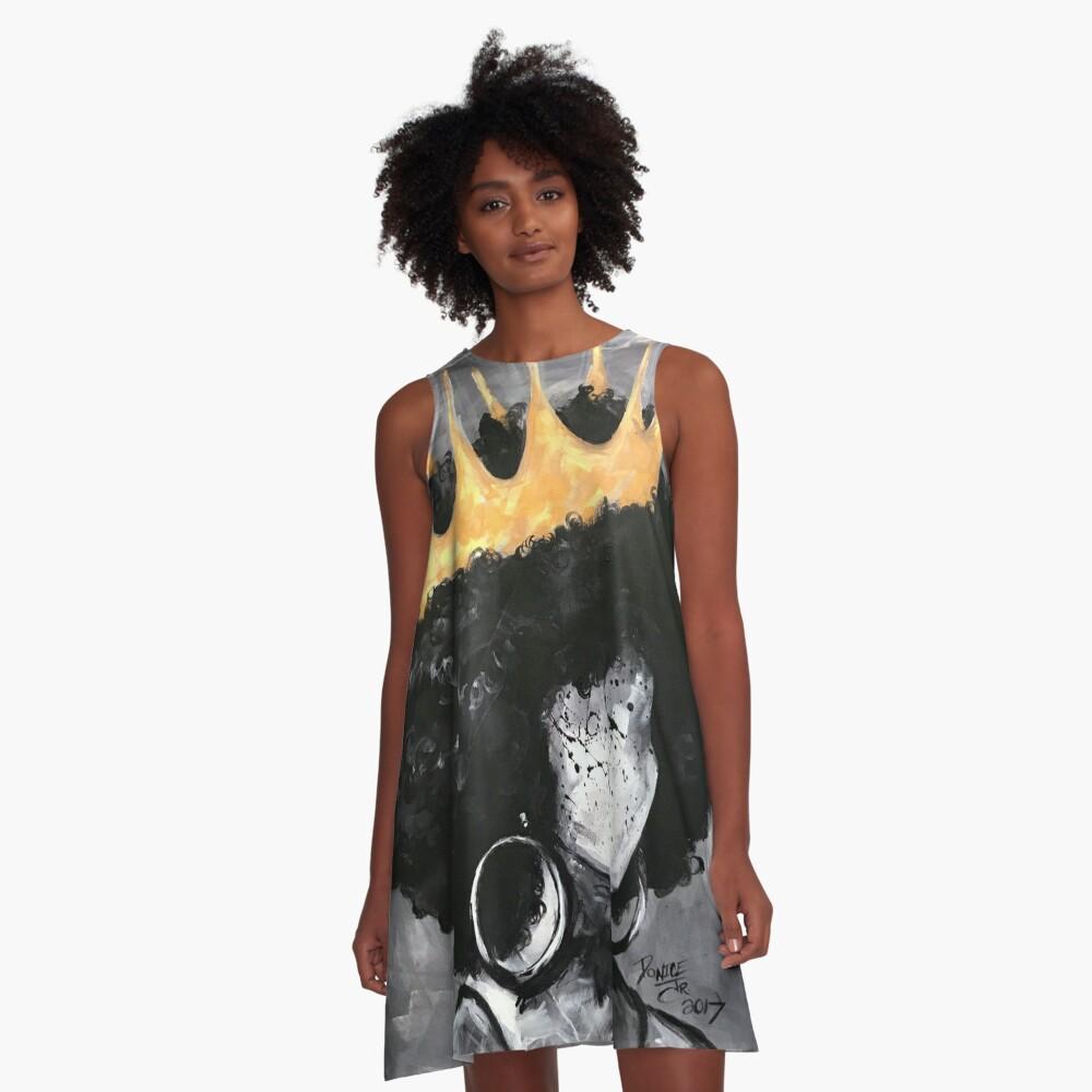 Natürlich Königin II A-Linien Kleid