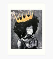 Naturally Queen II Art Print