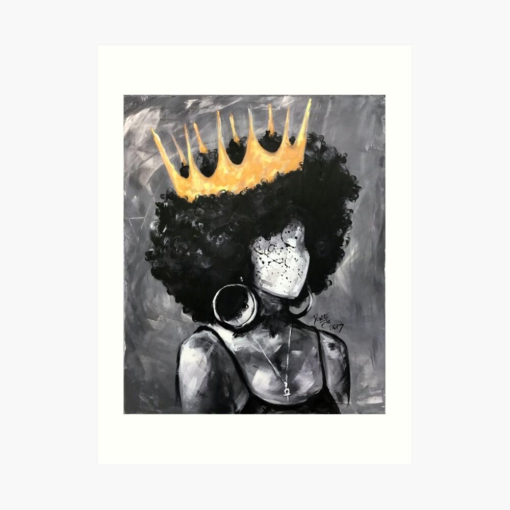 Natürlich Königin II Kunstdruck