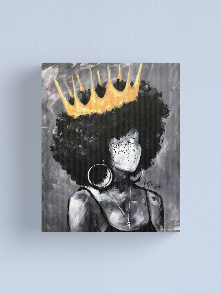 Alternate view of Naturally Queen II Canvas Print