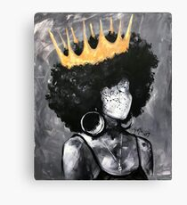 Naturally Queen II Canvas Print