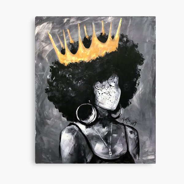 Naturally Queen II Canvas Print
