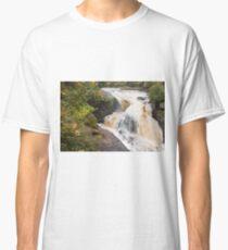 Rainbow Falls - Black River Scenic Byway, Michigan Classic T-Shirt