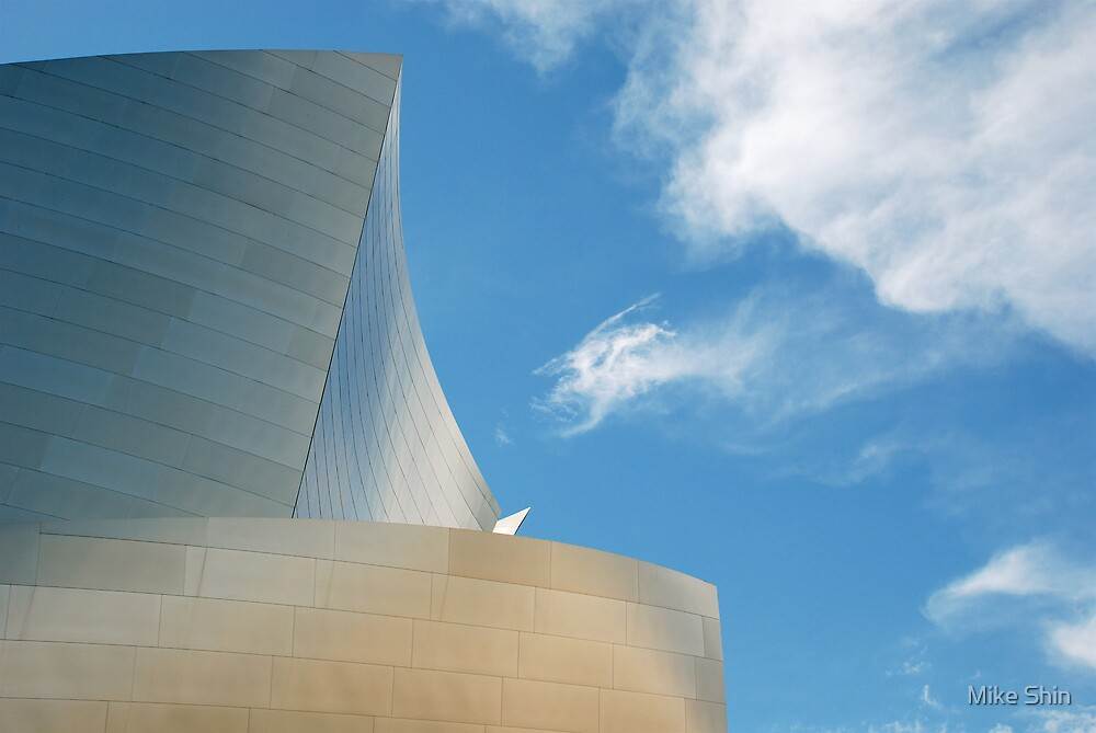 Disney Hall by Mike Shin