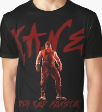 Big Red Monster | Kane Graphic T-Shirt
