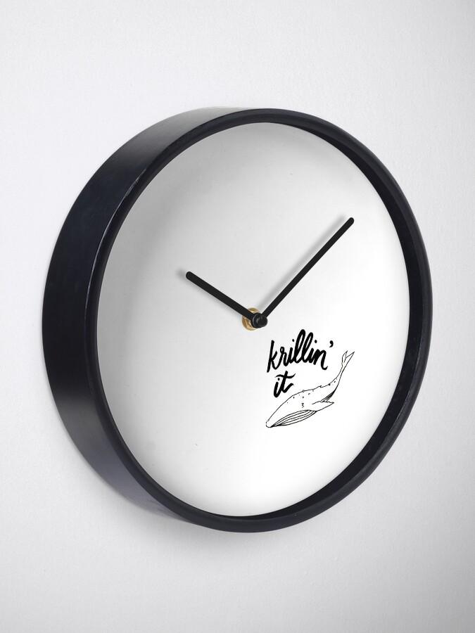 Alternate view of Krillin' It Clock