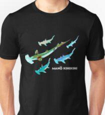 Mano Kihikihi - Hammerhead Shark - Hawaiian Fish Unisex T-Shirt