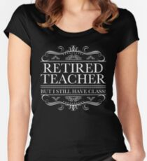Funny Retired Teacher Women's Fitted Scoop T-Shirt