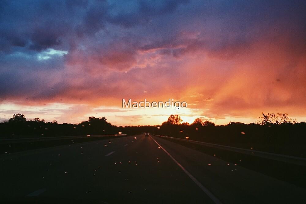 Rain on my Windshield  by Macbendigo